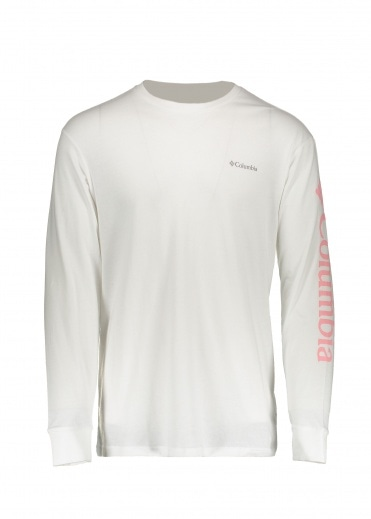 Columbia  North Cascades LS Tee - White / Rose