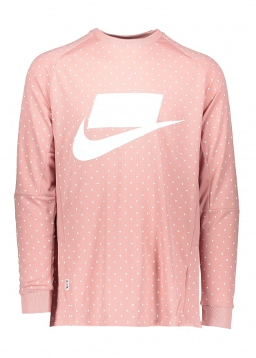 Nike Apparel NSW LS Jersey - Rust Pink