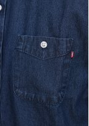 Commerce Dissent Woven Denim Shirt - Indigo