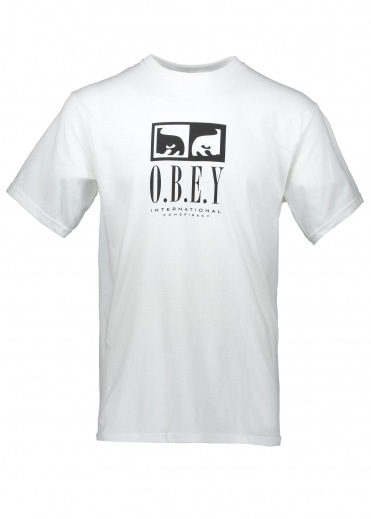 Obey Int. Conspiracy Tee - White