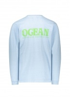 Eden Power Corp Ocean Recycled LS - Light Grey