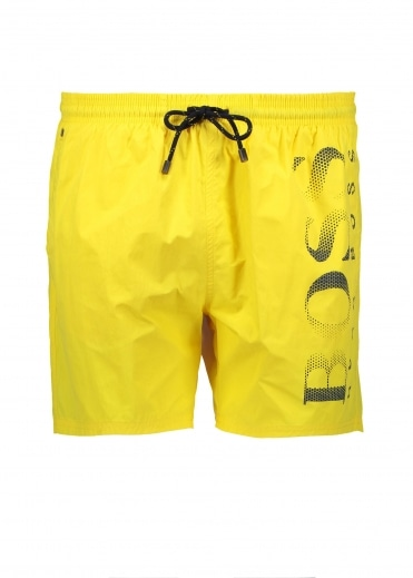 Hugo Boss Octopus Shorts - Medium Yellow