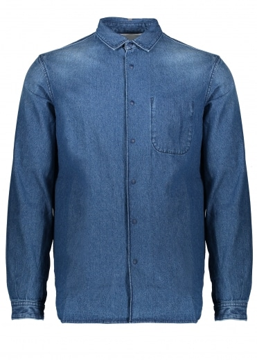 Manastash OD Shirt Jacket III - Indigo
