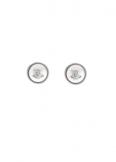 Vivienne Westwood Accessories Olga Earrings - Rhodium Alternate