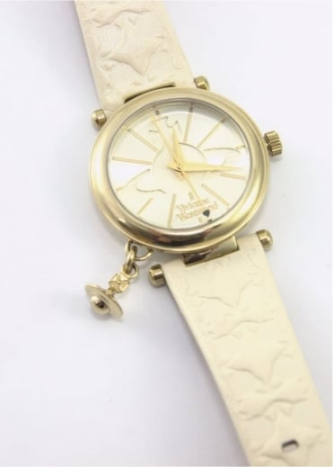 Vivienne Westwood Anglomania Orb II Watch Cream/Gold