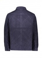 Orb Jacket - Navy Fracture Cord