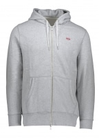 Original HM Zipup Hoodie - Medium Grey