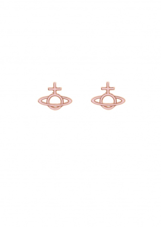 Ornella Bas Relief Earrings Pink