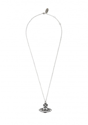 Vivienne Westwood Accessories Ornella Double Sided Pendant - Rhodium