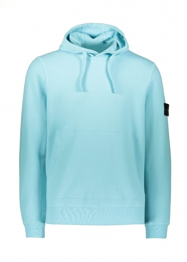 Stone Island OTH Badge Hoody - Acqua