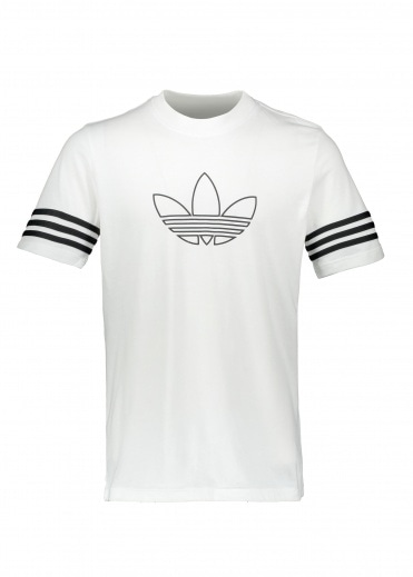 adidas Originals Apparel Outline Tee - White
