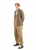 Beams Plus Overall Stretch Moleskin - Khaki