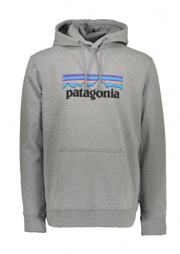 Patagonia P-6 Logo Uprisal Hoody - Gravel Heather