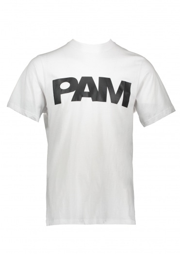 Perks and Mini P.A.M S Loops Logo Tee - Optic White