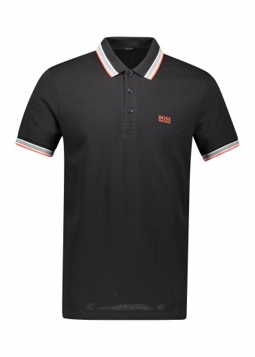Boss Athleisure Paddy Polo 008 - Black