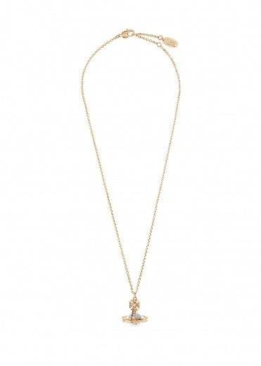 Vivienne Westwood Accessories Paisley Small Orb Pendant - Gold