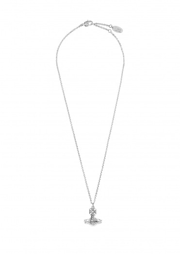 Vivienne Westwood Accessories Paisley Small Orb Pendant - Rhodium