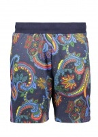 Billionaire Boys Club Paisley Sweatshort - Blue