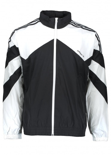 Adidas Originals Apparel Palmeston Windbreaker - Black / White