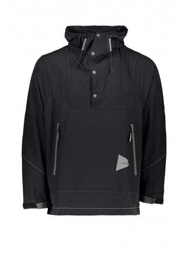 And Wander  Parka - Black