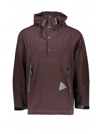 And Wander  Parka Bordeaux
