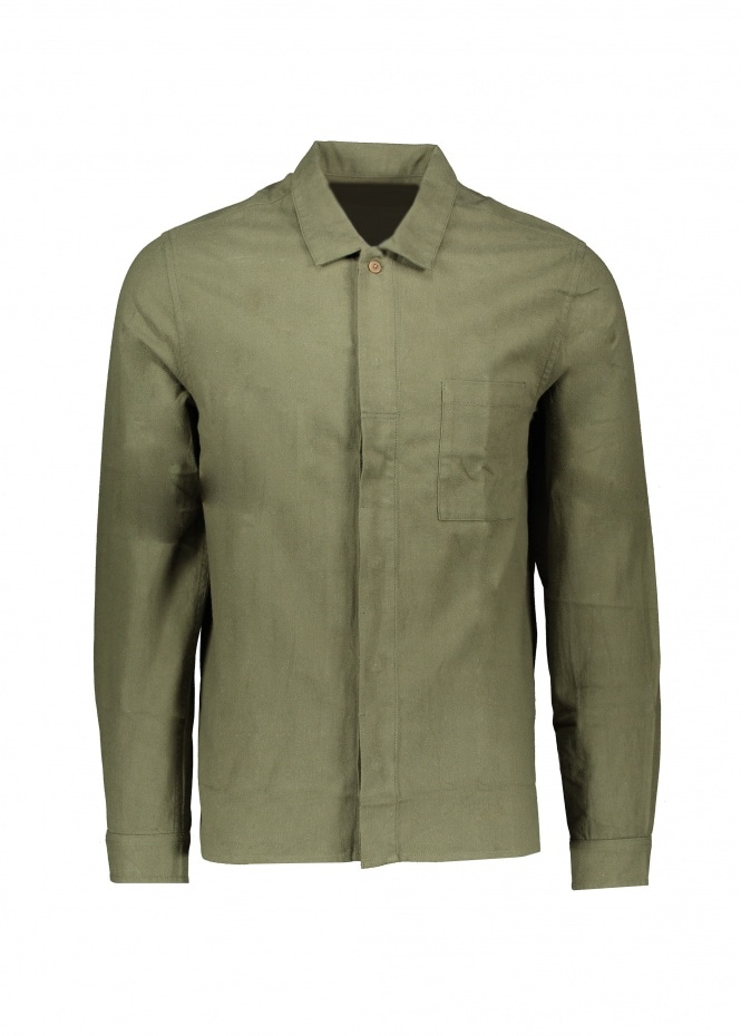 Patch Shirt - Green