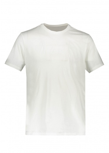 C.P. Company Patch Tee - Gauze White