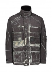 C.P. Company Pattern Medium Jacket - Black
