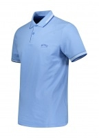 Paul Curved Polo Shirt - Turqouise