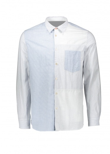 Paul Smith Casual LS Shirt - Blue