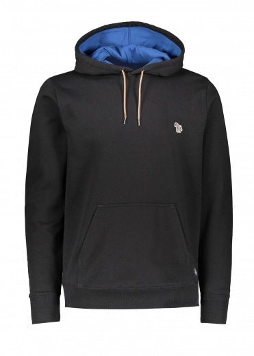 Paul Smith Reg Fit LS Hoodie - Black