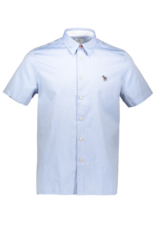 Paul Smith Zebra Casual Shirt - Pale Blue