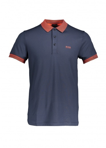 Boss Athleisure Paule Polo 411 - Navy