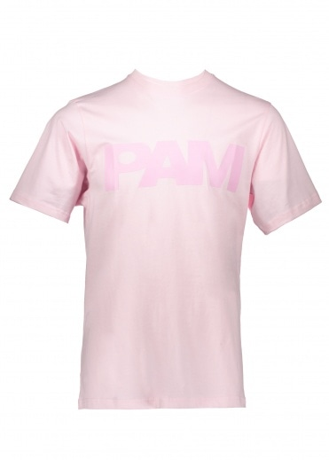 Perks and Mini P.A.M S Loops Logo Tee - Pale Pink