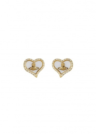 Vivienne Westwood Accessories Petra Earrings - Gold