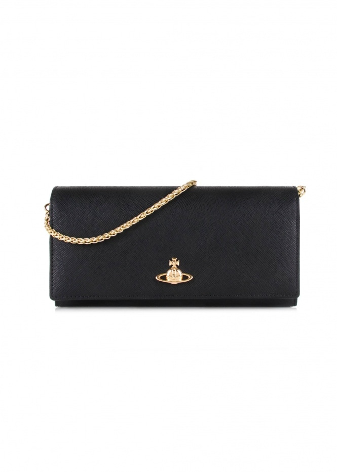 Pimlico Long Wallet - Black