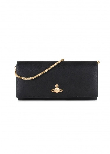 Vivienne Westwood Accessories Pimlico Long Wallet - Black
