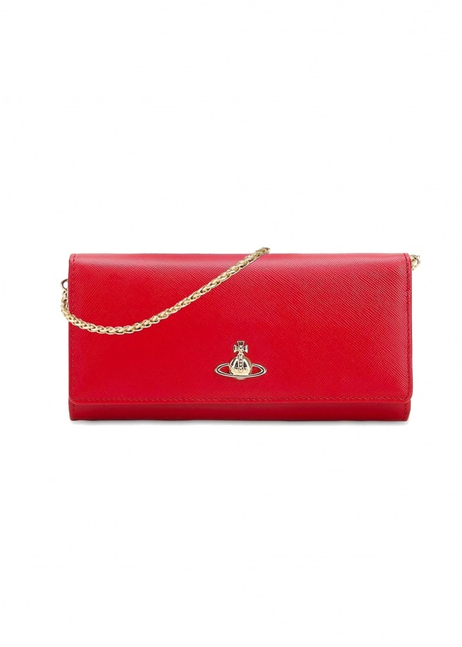 Pimlico Long Wallet - Red