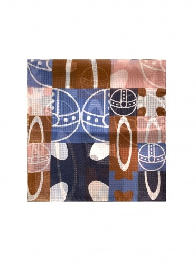 Vivienne Westwood Accessories Pocket Square 70 x 70 - Navy