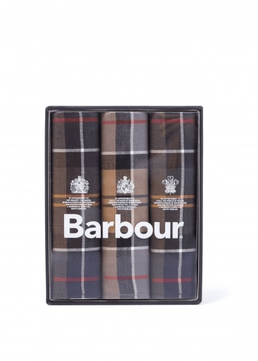 Barbour Pocket Squares Assorted