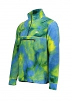 Polar Fleece Mock Neck - Tie Dye