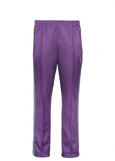 Needles Poly Smooth Track Pant - Eggplant