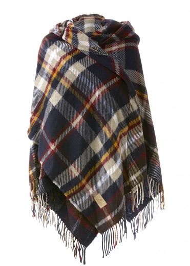 Vivienne Westwood Anglomania Poncho - Navy