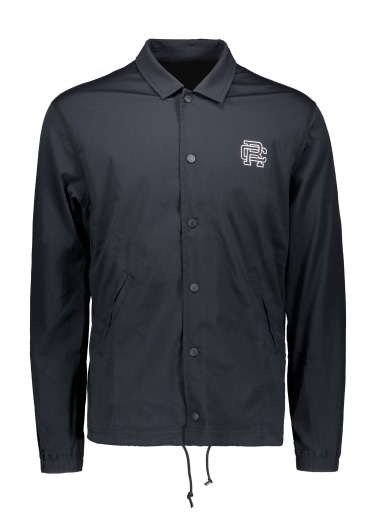 Reigning Champ Printed Coach Jacket - Black