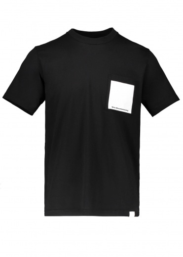 White Mountaineering  Printed Pocket Tee - Black