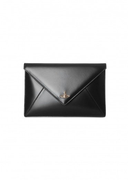 Vivienne Westwood Accessories Private Envelope Pouch - Black