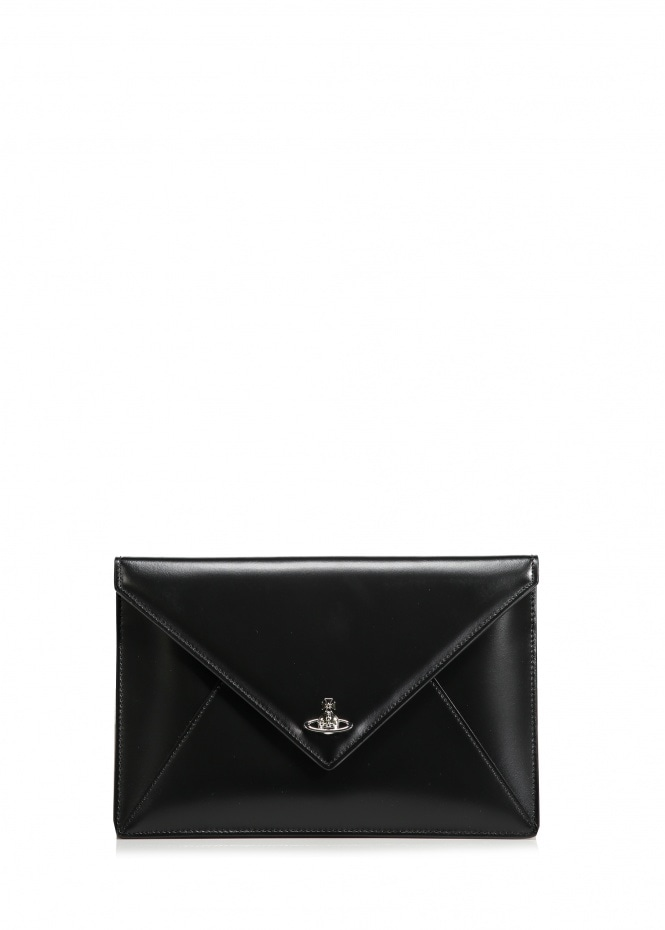 Private Envelope Pouch - Black