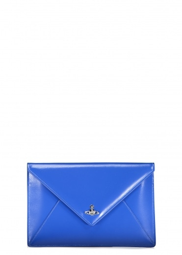 Vivienne Westwood Accessories Private Envelope Pouch Blue