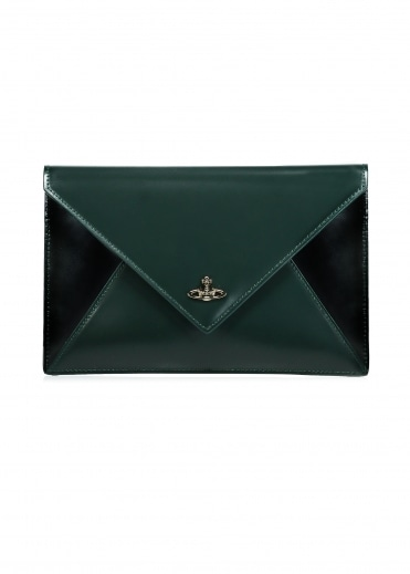 Vivienne Westwood Accessories Private Pouch - Green / Black