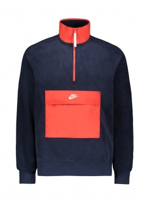 Nike Apparel 1/2 Zip - Obsidian